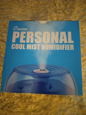 Crane Personal Ultrasonic Cool Mist Humidifier for Sale in San Bernardino, CA