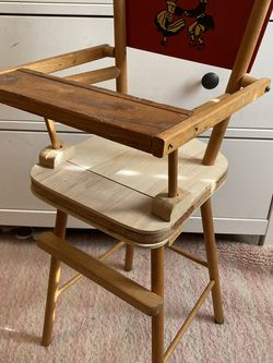 Vintage Doll Wooden High Chair for Sale in Seattle,  WA