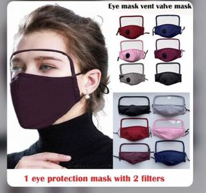 2 in 1 face masks with eye shield anti dust full face protection for Sale in Chino Hills, CA