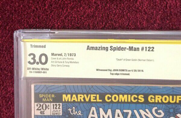 Amazing Spider-Man 122 CBCS 3.0