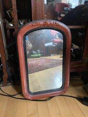 Antique Wood Mirror for Sale in Arlington, VA