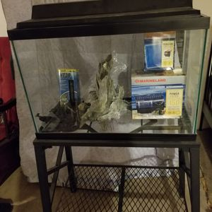 Fish tank and stand for Sale in Manassas, VA
