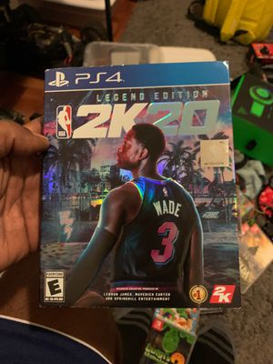 Ps4 games 2K20 Legend Edition for Sale in Los Angeles, CA