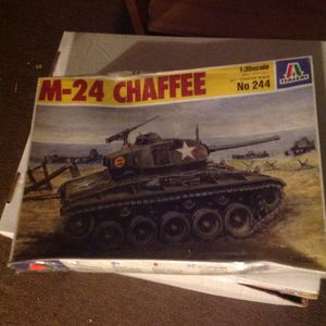 M-24 CHAFEE Tank Model Unopened Box for Sale in Medfield, MA