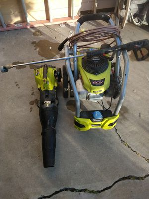 Only Ryobi pressure washer 3100 psi no blower for Sale in West Jordan, UT