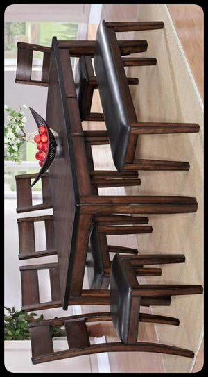 🚩SET🚩 Maldives Brown Extendable Dining Set for Sale in Washington, DC