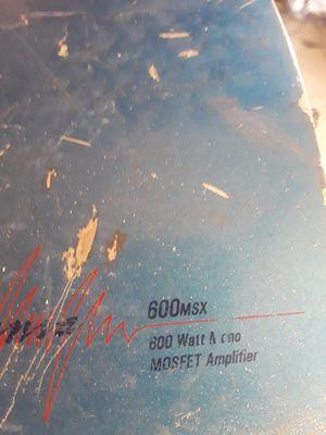 amplifier 600 w. For car for Sale in Salt Lake City, UT