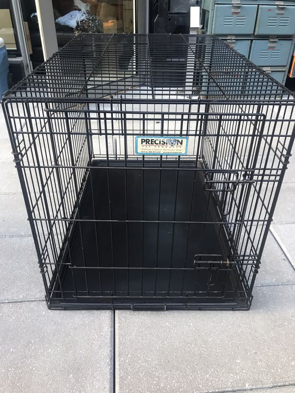 Precision Pet Products Great Crate Double Door Dog Crate, Intermediate (up to 70 lbs) Navy Yard area