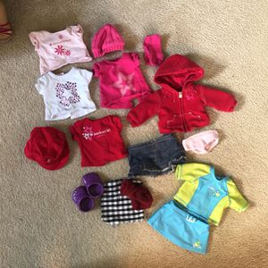 Lot Of American Girl Doll Clothes for Sale in Kirkland, WA