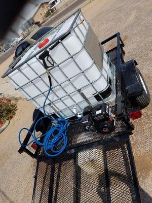 Detail trailer pressure washer set ups for Sale in Avondale, AZ