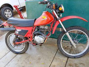 1983 Honda 185s Scott Enduro dirt bike for Sale in Lake Elsinore, CA