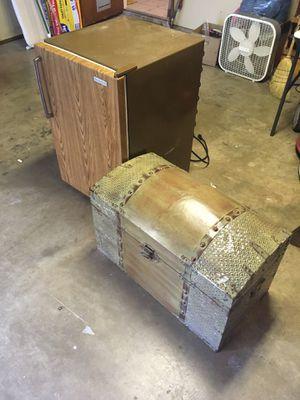 Small freezer/fridge & storage box for Sale in San Antonio, TX