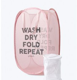 Laundry Basket (brand: Pink) for Sale in Burke,  VA
