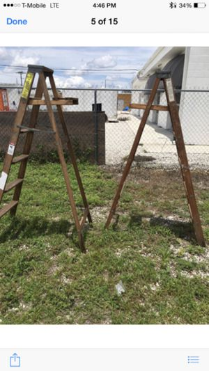 6' Wood Ladder (Sold Separately) for Sale in Orlando, FL