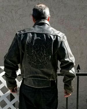 Harley-Davidson distressed leather riding jacket for Sale in Whittier, CA