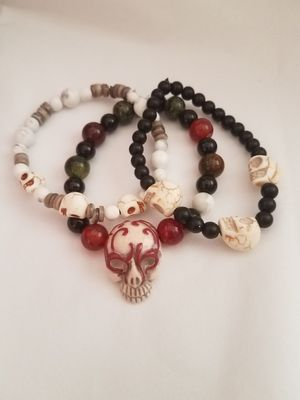 "Set of 3 Halloween Bracelets. 7.5"" each for Sale in Tempe, AZ"