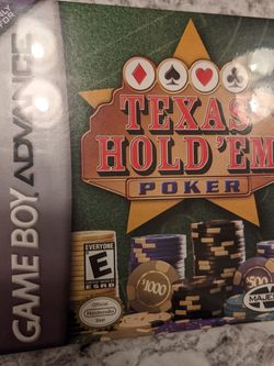 Texas Hold 'Em Poker GBA NIB FACTORY SEALED for Sale in Edinburg,  TX