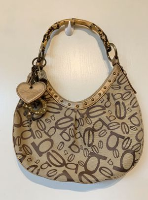 VINTAGE BEBE bamboo handle hobo bag/purse for Sale in Waterford, CA