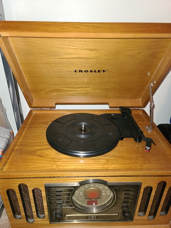 Crosley Record Player [Radio/CD/Cassette player as well]