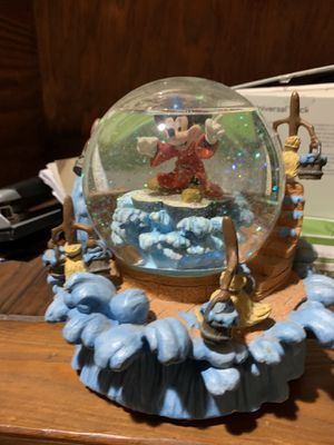 Sorcerer Mickey Disney Snowglobe for Sale in Sykesville, MD