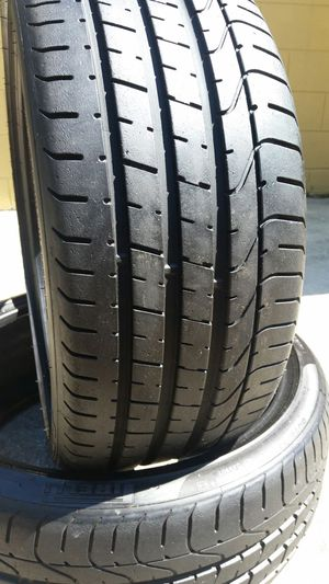 245/35/20 PIRELLI P-ZERO USED TIRES for Sale in Tampa, FL