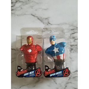 Avengers Iron Man and Captain America Paper Weights for Sale in Harrisburg, PA