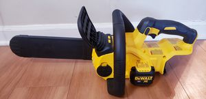 NEW DEWALT XR CHAINSAW 20V TOOL ONLY for Sale in Addison, IL