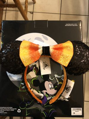 Disney parks Minnie Mouse Candy corn ears brand new with tags for Sale in Baldwin Park, CA