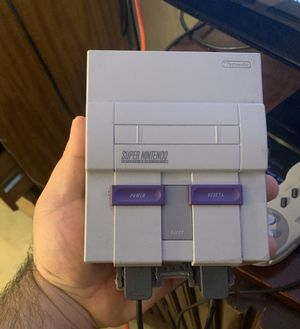 Super Nintendo Entertainment System SNES Classic Edition for Sale in The Bronx, NY