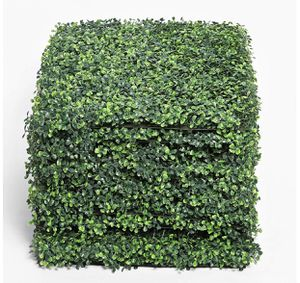 Square Feet Artificial Boxwood Panels Topiary Hedge Plant, Privacy Hedge Screen UV Protected Suitable for Outdoor, Indoor, Garden, Fence, Backyard an for Sale in Rancho Cucamonga, CA
