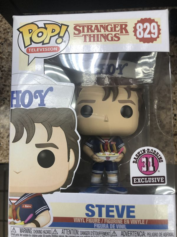 Stranger thing #829 Steve have 30 available in box Never opened