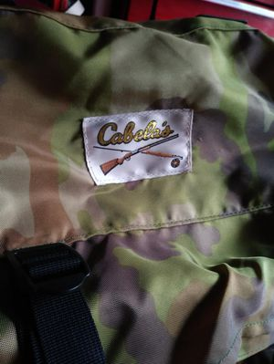 Cabelas Hunting hiking backpack. Camo with frame complete for Sale in Westbury, NY