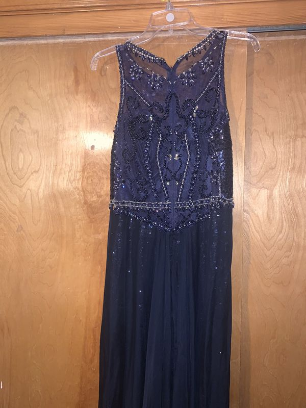 Medium size navy blue dress