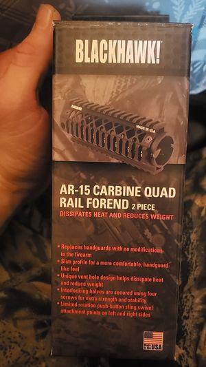 Used, BlackHawk Carbine Quad Rail Forend 2piece for Sale for sale  Kansas City, MO