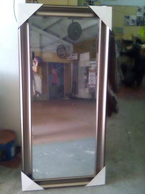 Sale mirror color silver hanging floor 66x32 for Sale in Los Angeles, CA