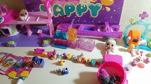 Splashlings Shopkins LOL dolls dolls cutie cars for Sale in Tampa, FL