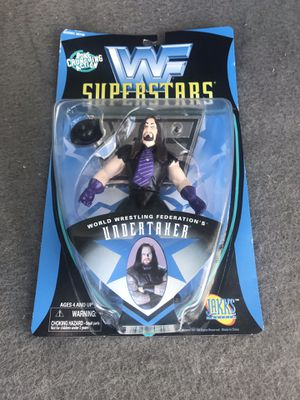 WWF SUPERSTARS UNDERTAKER ACTION FIGURE NEW ON CARD for Sale in Miami, FL