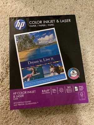Hp laser printer paper 400 count for Sale in Tempe, AZ