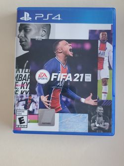 FIFA 21 PS4 Game , Very Good Condition for Sale in Hialeah,  FL