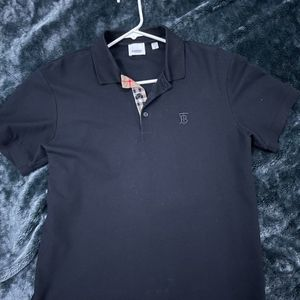 Black Burberry Polo / Size M for Sale in Port St. Lucie, FL