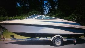 1997 Crownline Bowrider with Trailer for Sale in Elizabeth, NJ