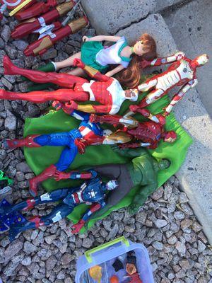 """Superhero action figures (marvel/dc-12""""&6"""") for Sale in Queen Creek, AZ"""