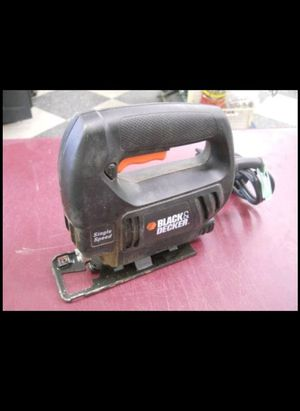 JIG SAW BLACK AND DECKER SINGLE SPEED for Sale in Columbus, OH