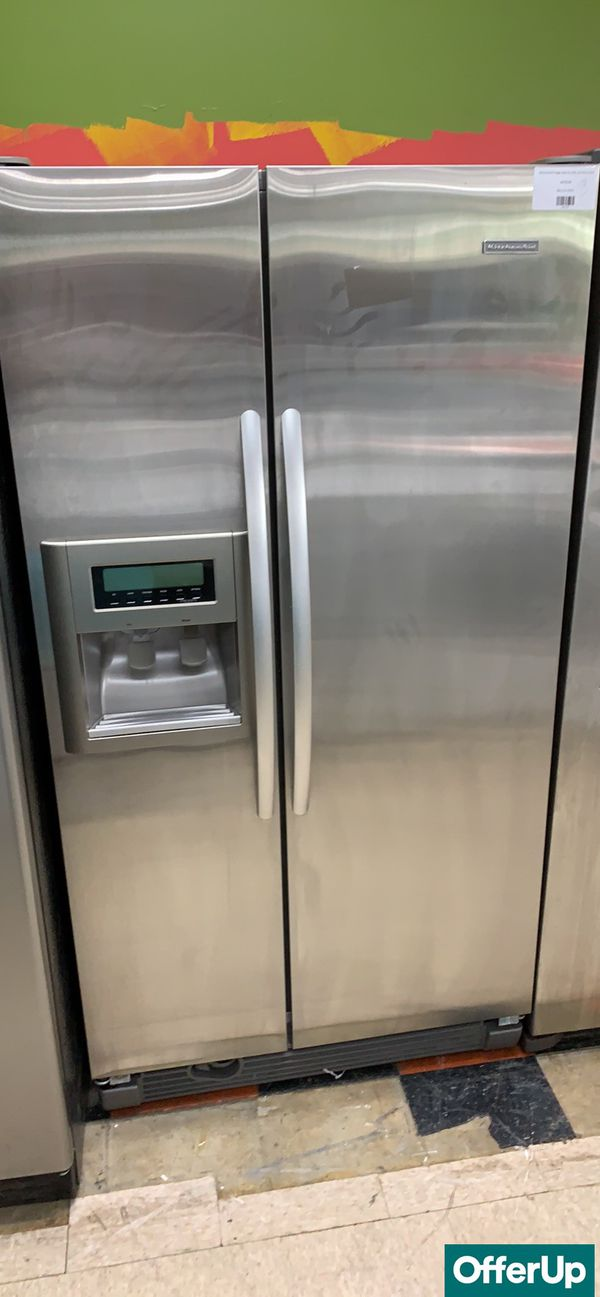🚀🚀🚀Side by Side Refrigerator Fridge KitchenAid Delivery Available #775🚀🚀🚀