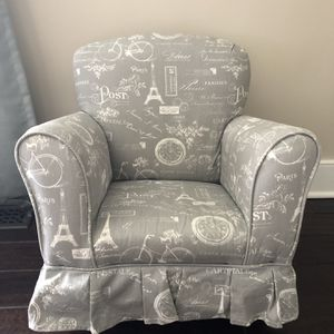 Upholstered Toddler Rocking Chair for Sale in Morrisville, PA