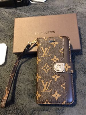 iPhone X wallet cell case LV for Sale in Fresno, CA