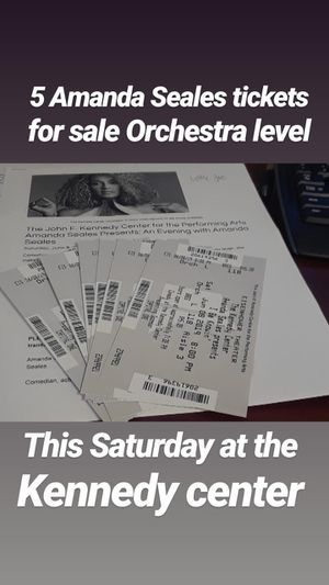 Amanda Seales comedy show - Kennedy center for Sale in McLean, VA