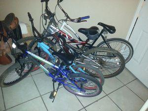 All 4 bikes 100$$ for Sale in Avondale, AZ