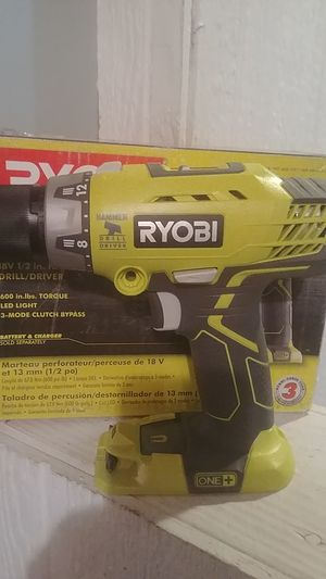 Ryobi 18 volt hammer drill for Sale in North Kansas City, MO