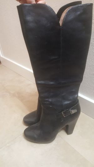 Sofft brand high heel boots size 7 for Sale in Lacey, WA